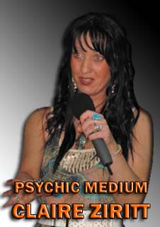 LIVE Claire Ziritt is Psychic Medium and Spiritual Healer