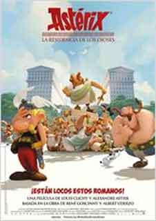 Asterix. La residencia de los Dioses